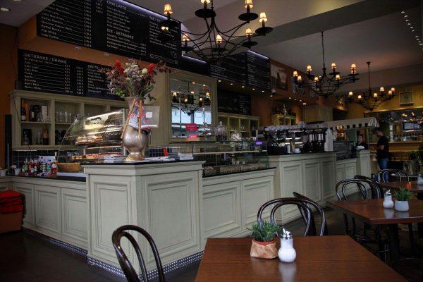 Innenbereich vom Cafe Haus Koch