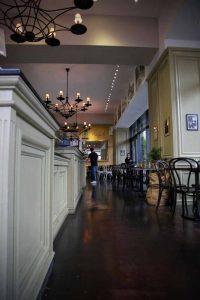 Innenansicht vom Cafe Haus Koch