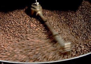 Frisch gerösteter Kaffee