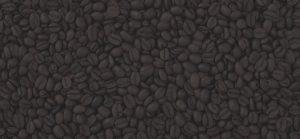 Dunkle Kaffeebohnen