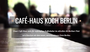 Mobiler Slider vom Cafe Haus Koch